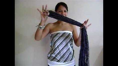 como usar la bufanda 9 maneras de usar la bufanda de aro de la tiendita de
