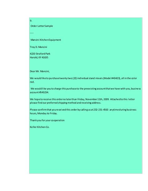 10 Types Of Business Letter Sles types of business letters