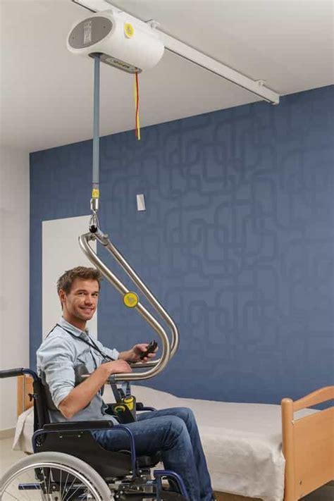 handicap bed lift handi move 2800 ceiling hoist dolphin mobility ltd
