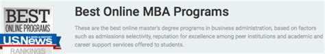 Most Reputable Mba Programs by The Top Mba Programs Rankings Guide Finding