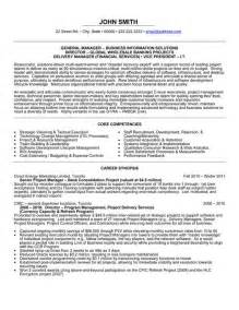 general resume template 1000 images about management resume templates sles