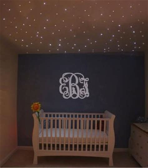 Baby Girl Nursery Bathed In Star Light Baby Room Ceiling Light