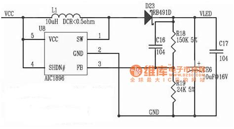 integrated circuit basics aic1896 integrated circuit diagram basic circuit circuit diagram seekic