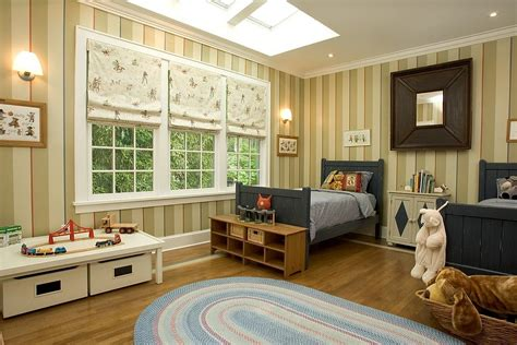 striped walls bedroom 20 delightful kids rooms with skylights