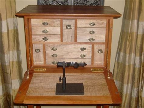 fly tying desk for sale fly tying desk finished by leighty6 lumberjocks com