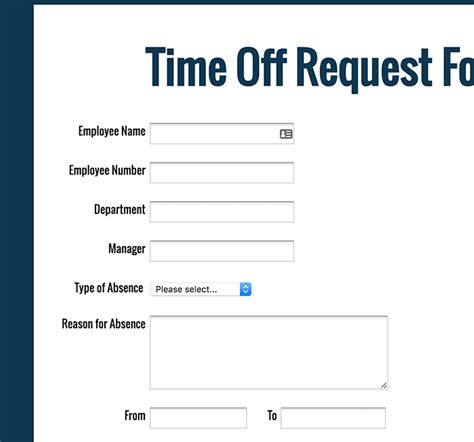 free printable time off sheets free printable time off request form tolg jcmanagement co