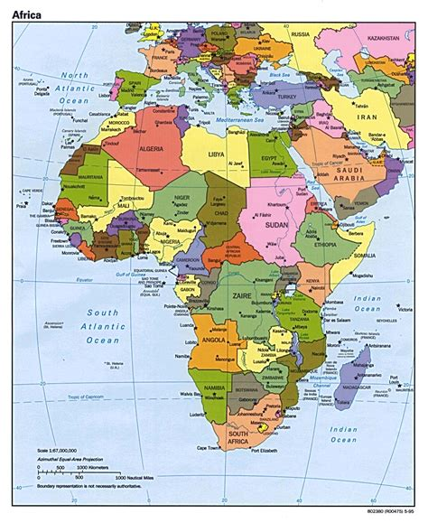 map of africa political pictures