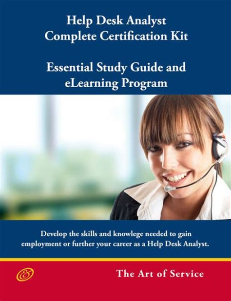 help desk analyst complete certification kit you powered