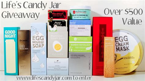 Candy Jar Giveaway - giveaway korean skin care life s candy jar