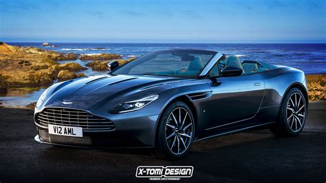 aston martin db11 aston martin db11 gets volante virtual treatment