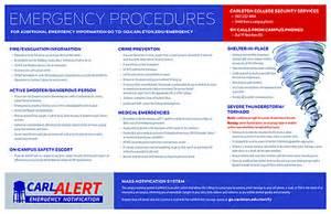 emergency information carleton college