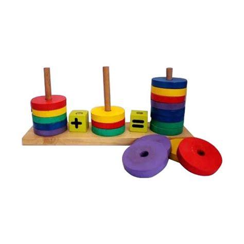 Mainan Anak Model Jam Rangkai Mainan Edukasi Anak jual mainan edukasi lingkaran hitung mainan anak harga kualitas terjamin blibli