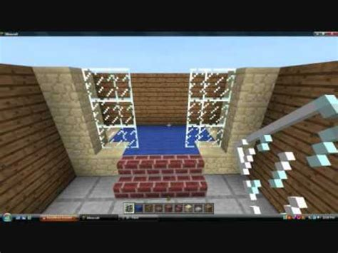 How To Make A Shower On Minecraft Pe by Minecraft Pe Tutorial 12 Bathroom 2 0