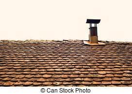 camino tetto tetto camino concreto rosso camino tettoia immagine d
