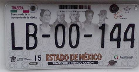 placas del estado de mexico placas de autos de m 233 xico y otras cos 999 as estado de
