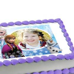Disney Frozen Party Cake Topper » Home Design 2017