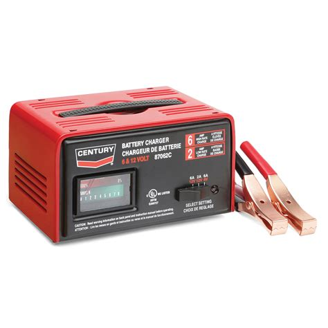 lowes battery charger shop century 12 volt battery charger at lowes