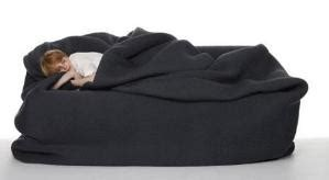 bean bag bed with blanket and pillow this is awesome a bean bag quot bed quot with built in blanket