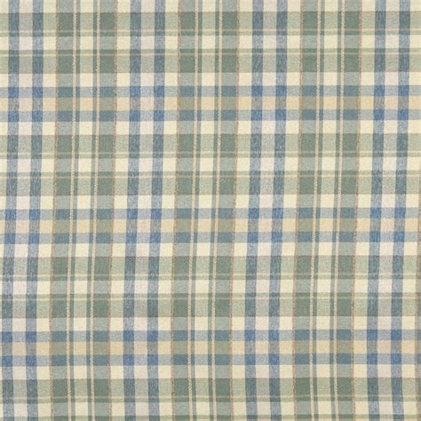 plaid vinyl upholstery blue beige and green textured plaid upholstery grade
