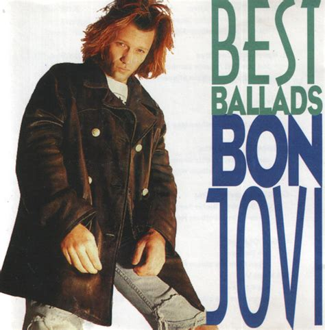 best of bon jovi bon jovi best ballads cd at discogs
