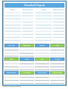Home Organization Templates by Free Printables Organizing Homelife