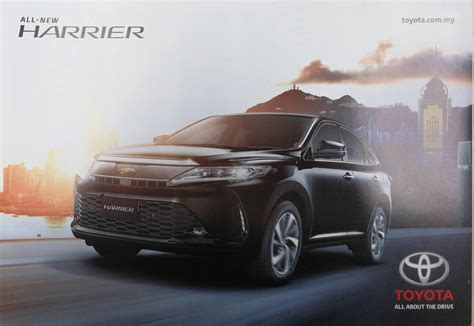 Toyota Harrier Facelift 2018 toyota harrier coming to malaysia facelift