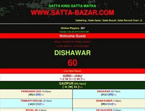 satta record chart gali desawar www sattabazaar com websites satta bazar com satta king