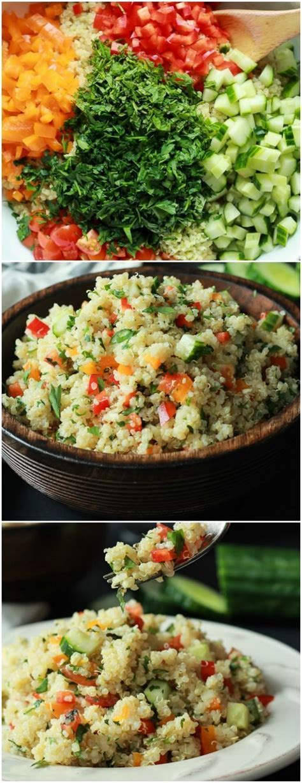 Http Www Joyfulhealthyeats Detox Summer Salad With Citrus Basil Vinaigrette by Top 25 Ideas About Easy Salads On Vegetarian