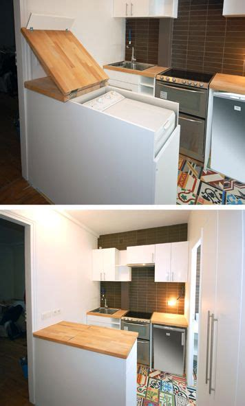 La Fabrique 224 D 233 Co Int 233 Grer Esth 233 Tiquement Un Lave Linge Plan Travail Amovible Cuisine Achat