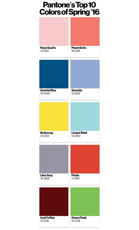 fashion colors for 2016 breaking news bulletin pantone color of the year 2016