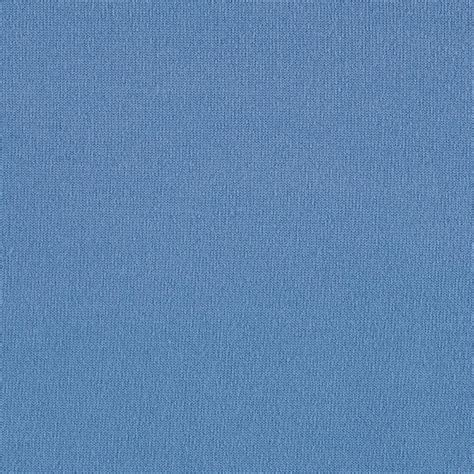 jersey knit material brushed poly lycra jersey knit solid cerulean blue