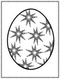Free easter egg mandala coloring pages