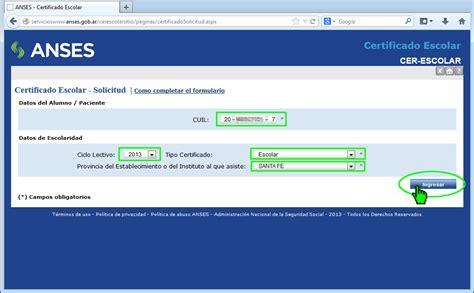consultas online sobre anses y su autopista de servicios consultas on line ayuda escolar anual formulario ps 2 68