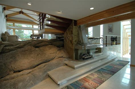 house granite design natural granite outcropping house design ideas home improvement inspiration