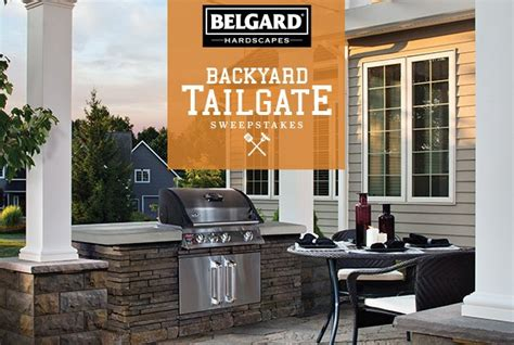 Post It Make It Stick Sweepstakes - enter the belgard backyard tailgate sweepstakes