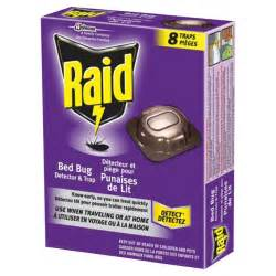 bed bug detectors raid bed bug detector and trap 8 pack r 233 no d 233 p 244 t