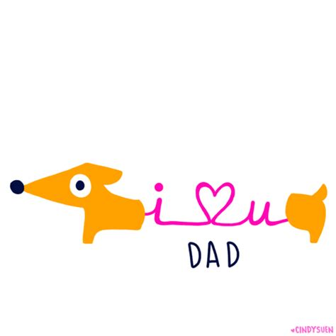 imagenes de i love you father happy fathers day gif by cindy suen find share on giphy