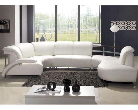 modern u shaped sectional sofa modern quot u quot shaped leather sectional sofa 44lv104