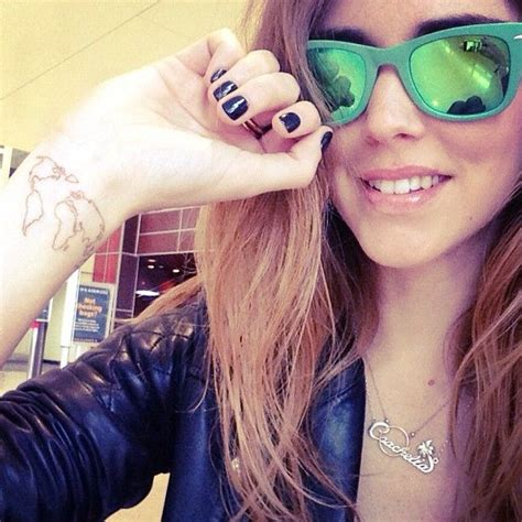chiara ferragni tattoos world earth wrist chiaraferragni chiara