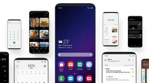 samsung one ui to redesign user experience to make using large screen phones easier technology