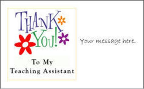 Thank You Note To Assistant Thankyou