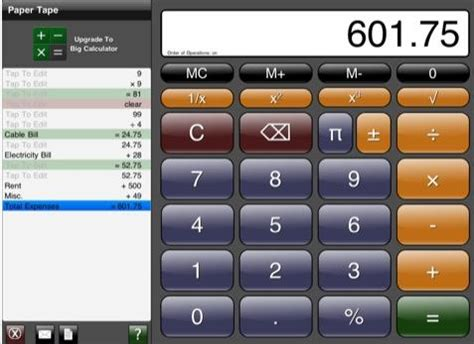 free calculator 5 free calculator apps