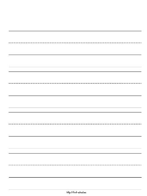 preschool writing paper template free kindergarten writing paper search results calendar 2015