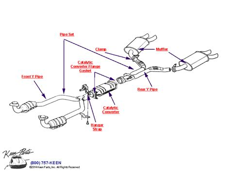 muffler diagram image gallery exhaust diagram