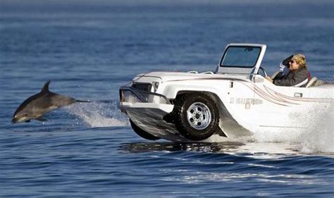 boat car meaning hibious panther car made by watercar can reach 45mph on