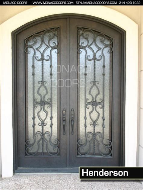 Iron And Glass Doors Monaco Doors Glass And Iron Doors