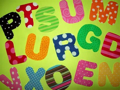 fabric applique letters fabric applique template pattern only alphabet letters