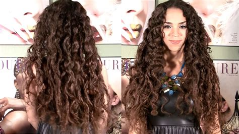 curly hairstyles for long hair no heat no heat curls curls without heat hair tutorial no
