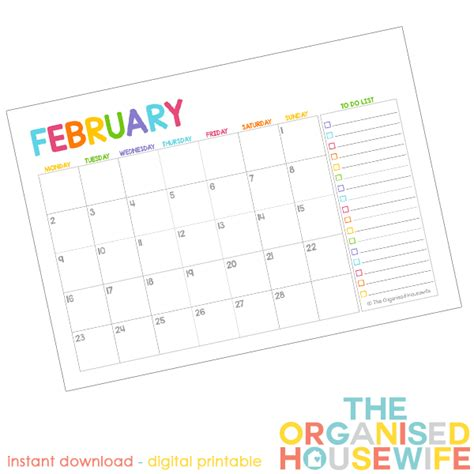 printable calendar to do list free 2015 monthly calendar pages with to do list the