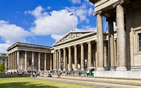 Row Houses by British Museum Representing Cultures From Around The